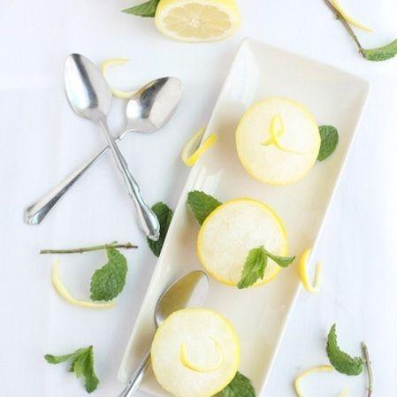 Nevado de limón y menta