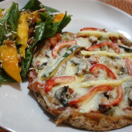 Pizzeta árabe