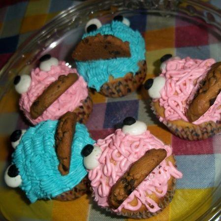 Cupcakes come galletas