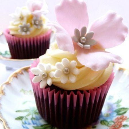 Cupcake d'amour ou d'amitié