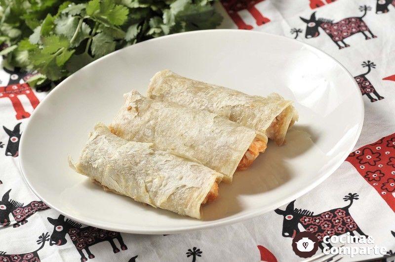 Burritos de camarón