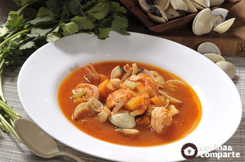 caldo de marisco receta