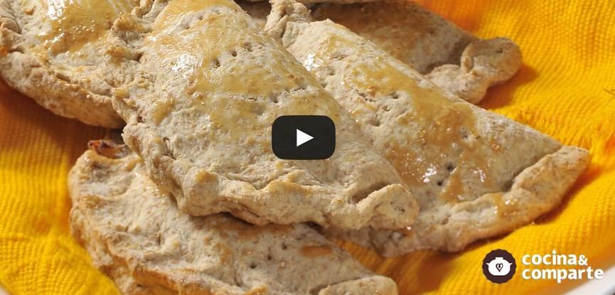 Empanadas integrales de durazno