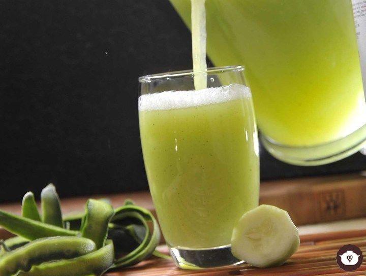 Jugo de pepino con limon para adelgazar