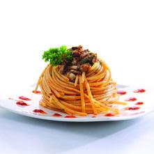 Spaghetti con ostiones