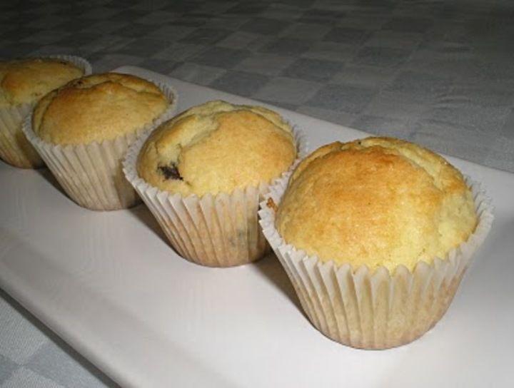 Muffins o Magdalenas de Vainilla