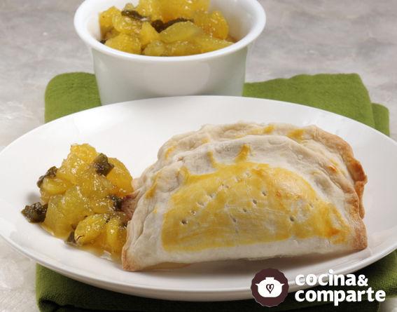 Empanadas de piña con nopal
