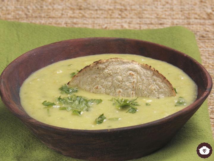 Salsa verde cremosa