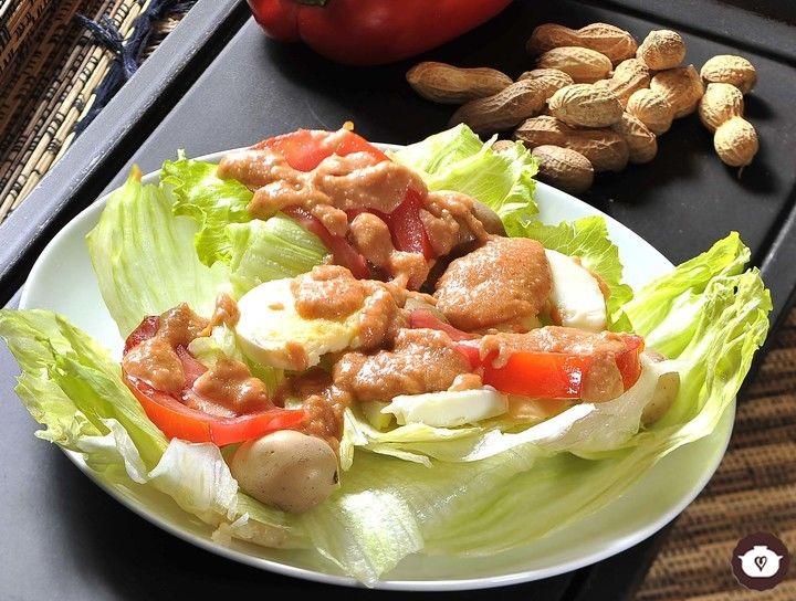 Ensalada de papas Guancaina