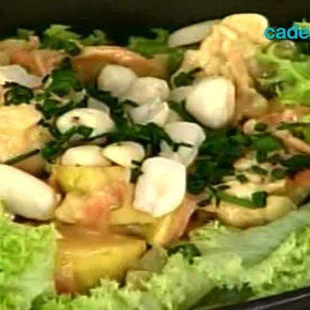 Ensalada de pollo crujiente