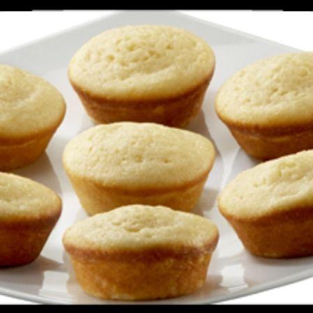 Muffins de Queso Crema con Durazno