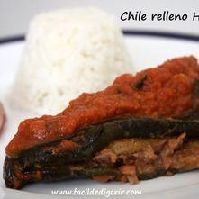 Chile relleno Huasteca