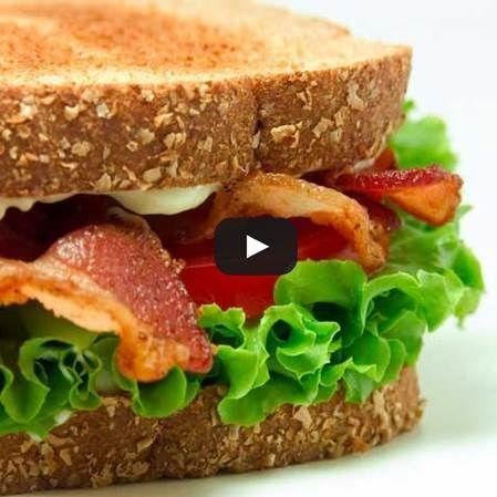 Delicioso sándwich para el desayuno