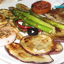 Vegetales rostizados balsámico