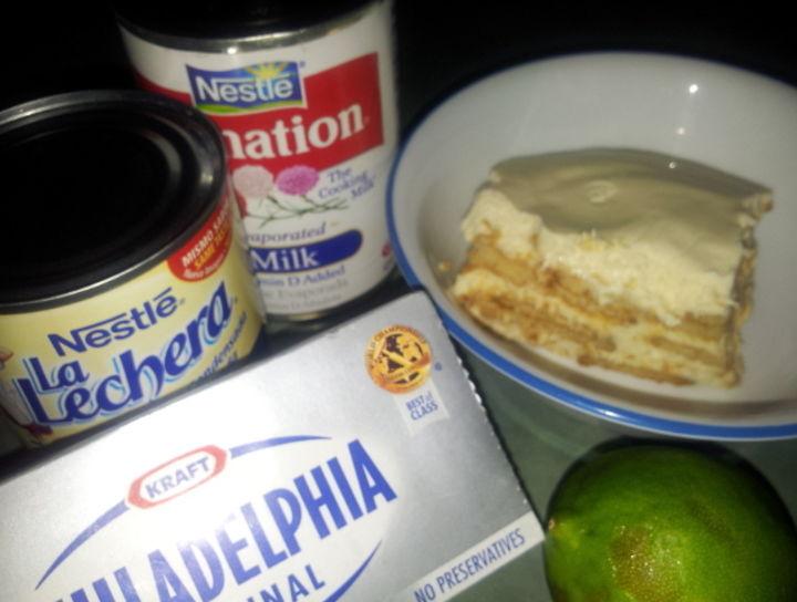 Pastel de limón con galletas Marias