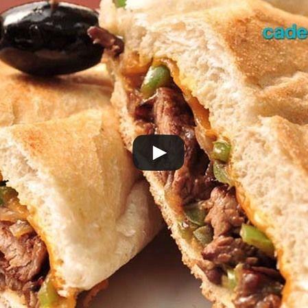 Sándwich de berenjena rostizada