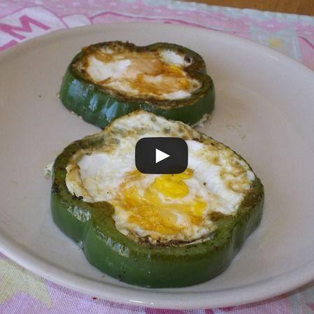 Huevos con chile morrón