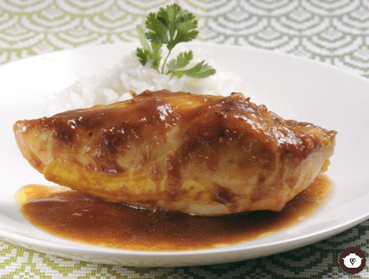 Pollo en salsa de tamarindo y chipotle