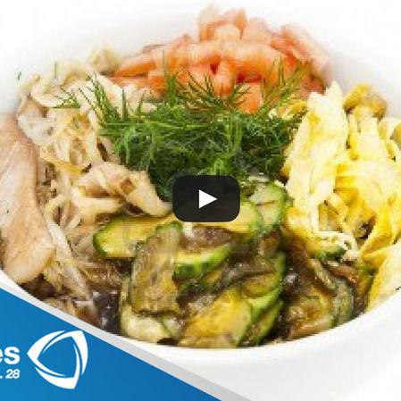 Ensalada japonesa en salmuera