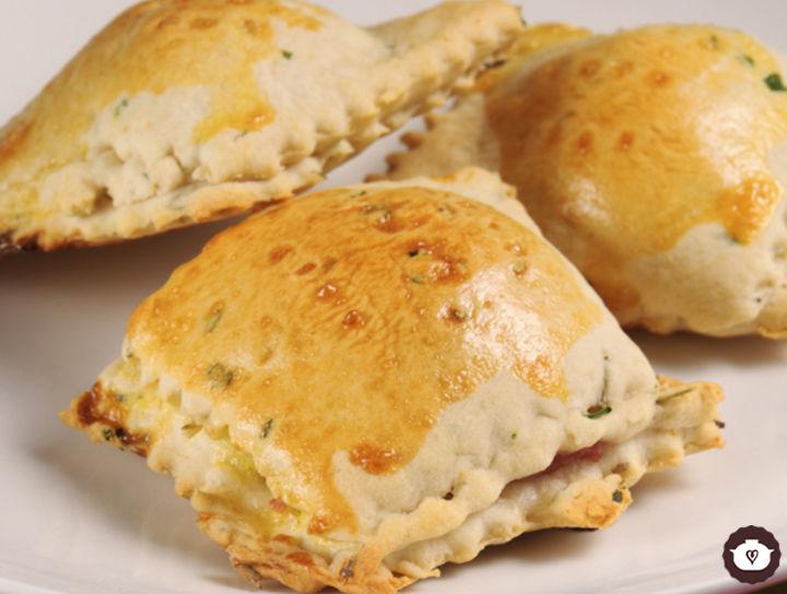 Panecillos de jamón y queso