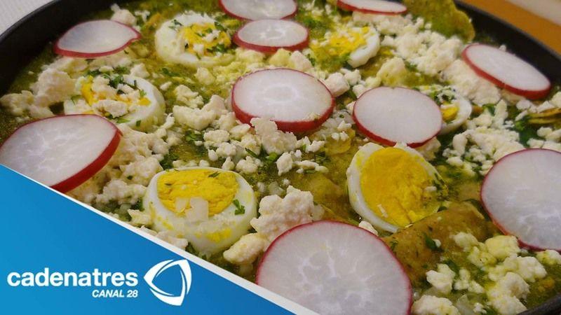 Chilaquiles verdes de Tampico