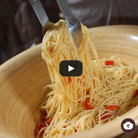 Spaghetti al romero
