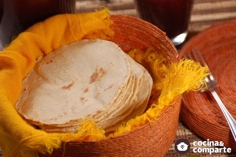 Cómo hacer tortillas de maíz