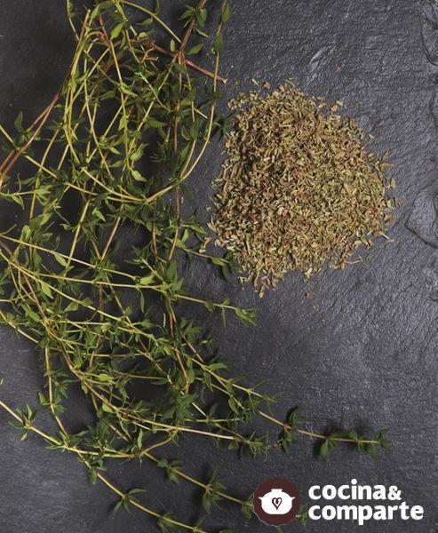 Tomillo (Thymus vulgaris)