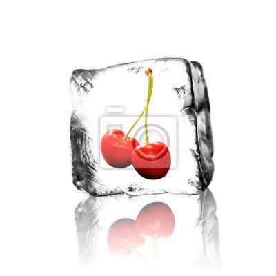 Hielos con fruta, dulce y café