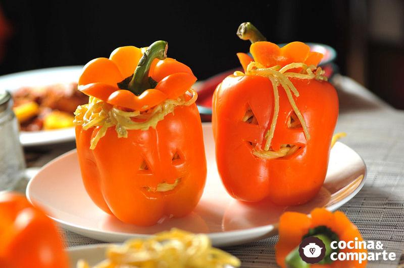 Pasta de Halloween