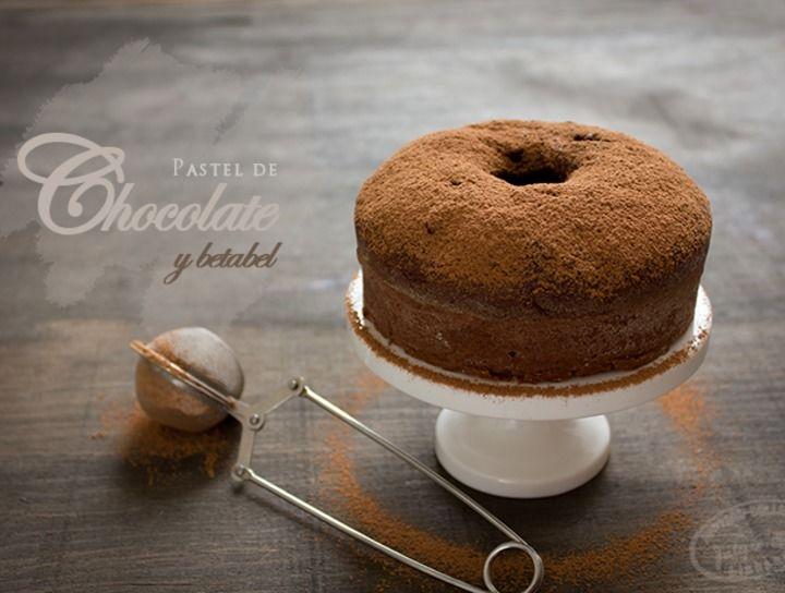 Pastel de Chocolate y Betabel