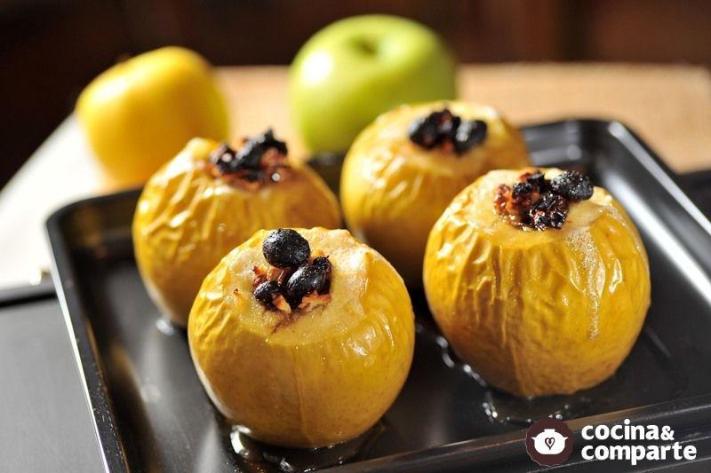 Manzanas a la miel