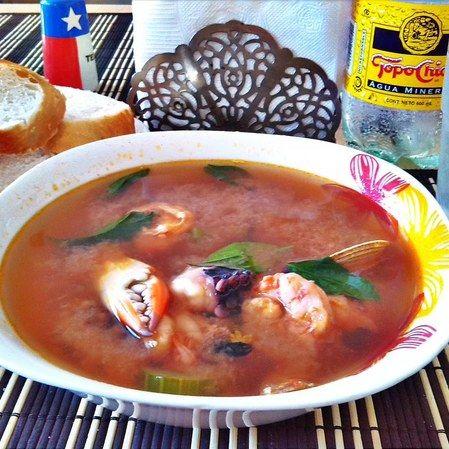 Sopa de mariscos DyR
