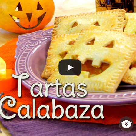 Tartas de calabaza de Halloween