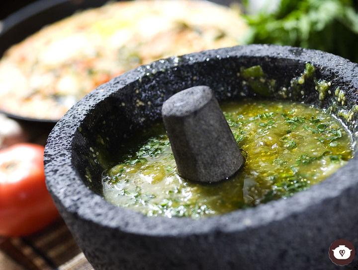 Salsa verde morelense