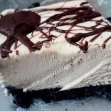 Postre helado tipo Snickers
