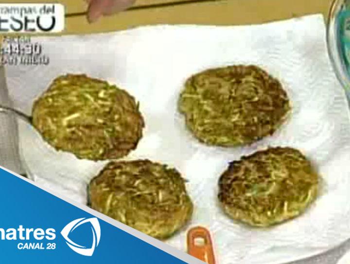Pastelitos de calabacitas y calabaza de castilla