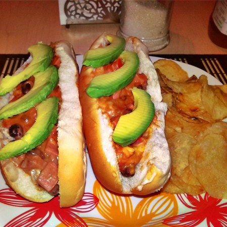 Hot dogs estilo mamá Juanita