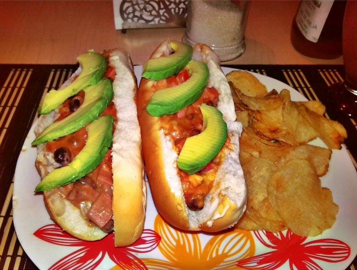 Hot dogs estilo mamá Juanita