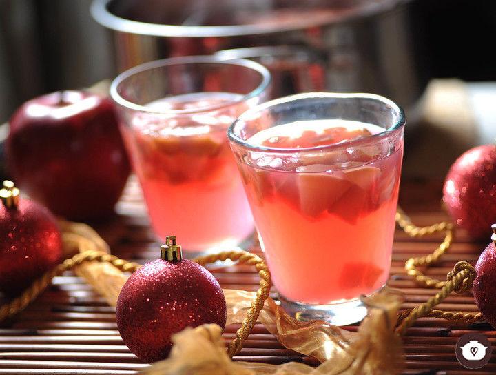 Ponche de cerezas