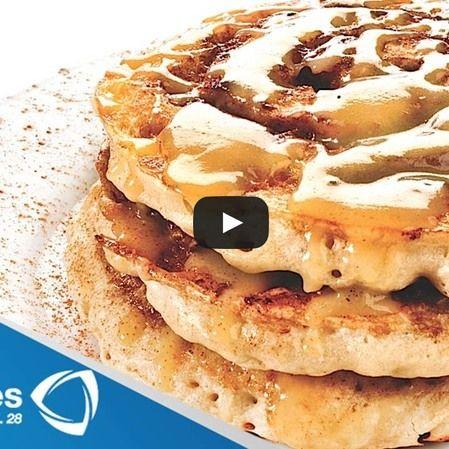Waffles con queso ricotta