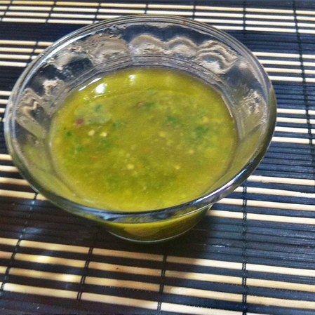 Salsa de piquín con oliva