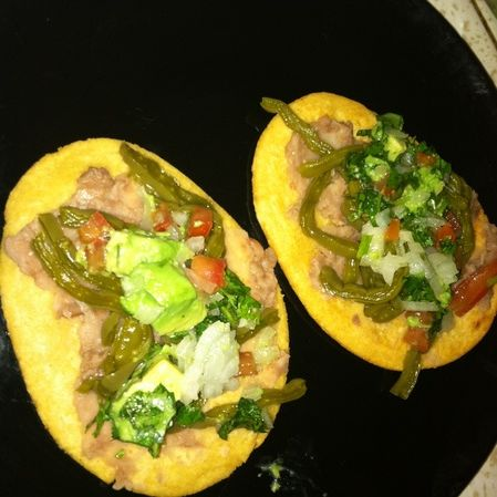Huaraches de nopal