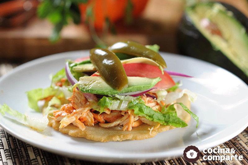 Salbutes yucatecos