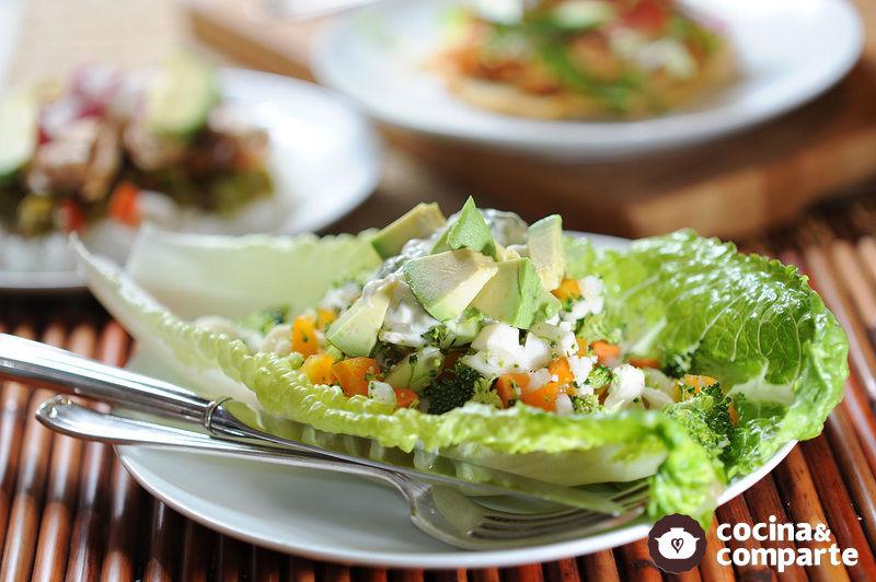 Ceviche de verdura