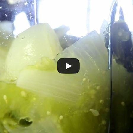 Salsa de pimiento verde para pescado
