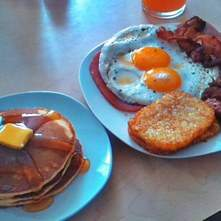 Lumberjack breakfast (desayuno del leñador)