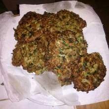 Tortitas de avena y cilantro