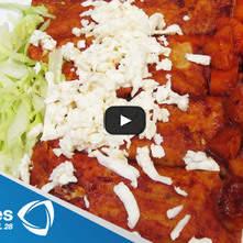 Enchiladas queretanas