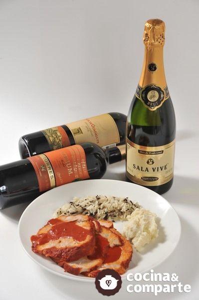 Maridaje de vinos con Pierna de puerco adobada